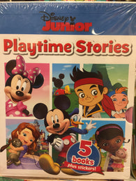 Disney Junior Playtime Stories - 5 books plus stickers