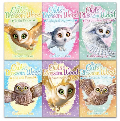 Owls of Blossom Wood Collection 6 Books Set