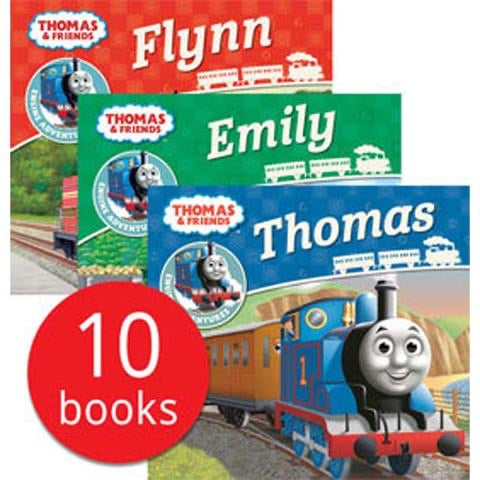 Thomas & Friends Engine Adventures Collection (10 Books)
