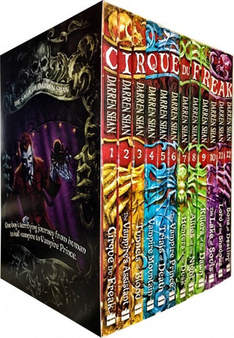 Saga of Darren Shan 12 books