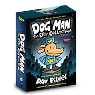 Dog Man 1-4 books