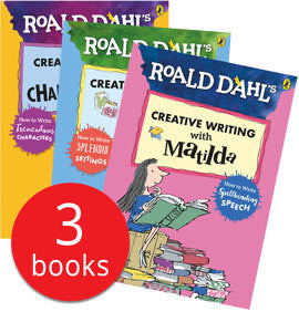 Creative Writing with Roald Dahl Collection - 3 Books (Collection)