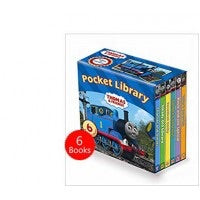 THOMAS AND FRIENDS POCKET LIBRARY 6 BOARD BOOKS