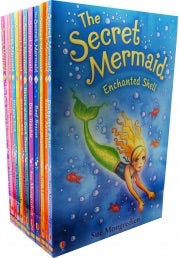 The Secret Mermaid Collection By Sue Mongredien 12 Books Set Collection Pack