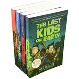 The Last Kids on Earth Collection 4 Books Set By Max Brallier Netflix Original