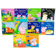Peppa pig 10 books w/CD