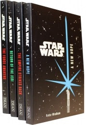 Star Wars Junior Novel Collection 4 Books Set by Ryder Windham