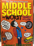 Middle School 3 books  collection