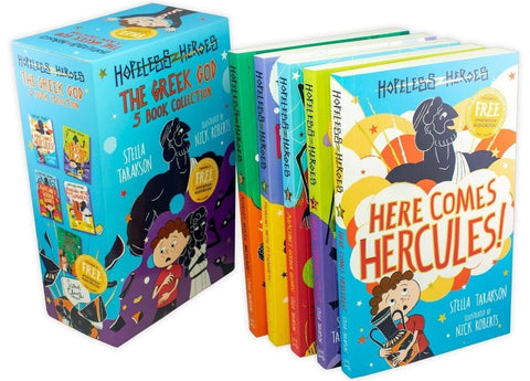 Hopeless Heroes: The Greek God 5 Book Collection - Ages 7-9 - Paperback - Stella Tarakson