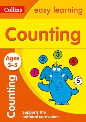 Counting Ages 3-5 : Prepare for Preschool with Easy Home Learning
