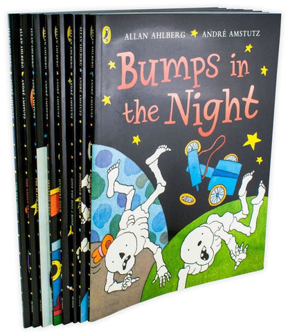 FunnyBones 8 Books Collection By Allan Ahlberg