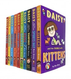 Daisy and The Trouble Collection 10 Books Set by Kes Gray Daisy and The Trouble with Kittens, Sports Day, Vampires, Zoos, Giants, Piggy Banks