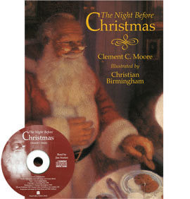 The Night Before Christmas - Book & CD (Audio)
