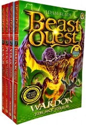 Beast Quest Series 15 Velmals Revenge Collection 4 Books Collection Pack Set