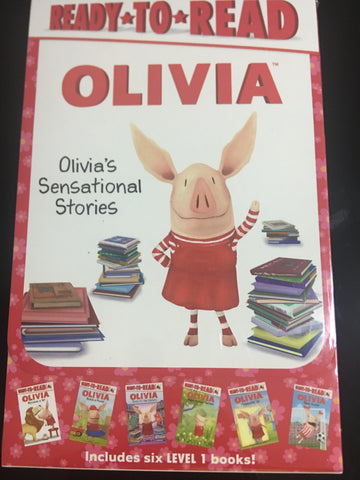 Ready to read Olivia 6 books