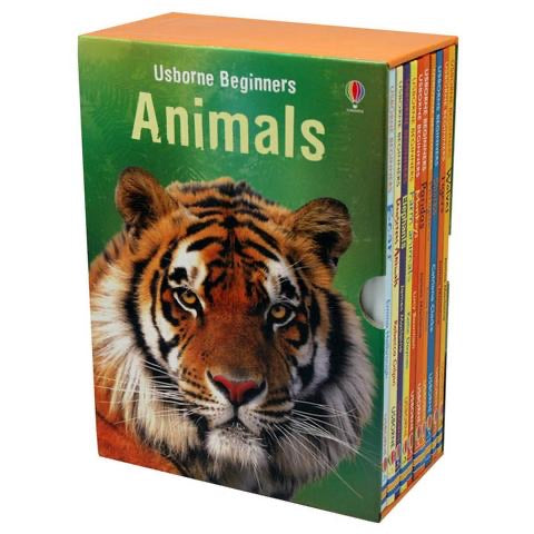 Usborne Beginners Animals Collection (10 Books)