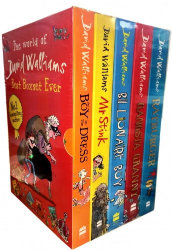 David Walliams Best Boxset 5 series 1