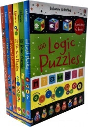 Usborne Puzzles Activity 6 Books Collection Set Pack