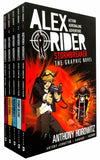Alex Rider Collection 5 Graphics Books Set By Anthony Horowitz