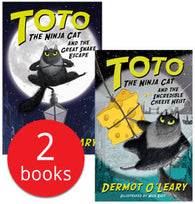 Toto the Ninja 2 books