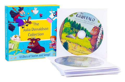 Julia Donaldson Collection 10 CD Set - Ages 7-9 - Paperback