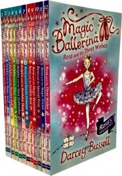 Magic Ballerina Collection 12 Books Set