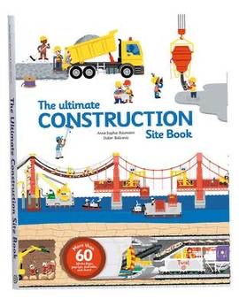 The Ultimate Construction Site Book (Hardback)