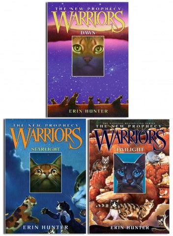 Warriors Cats Series 2 The New Prophecy By Erin Hunter 6 Books Set M Hkibookshop