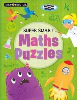 Brain Boosters: Super-Smart Maths Puzzles (Paperback)