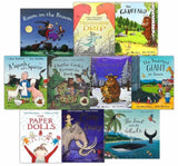 Julia Donaldson Story Collection 10 Books In Blue Bag