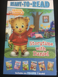 Ready to Read story time with Daniel 6 books