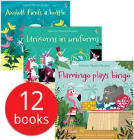 Usborne Phonics Readers Collection - 12 Books (Collection)