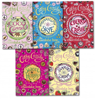 Chocolate Box Girls Collection Cathy Cassidy 5 Books Set