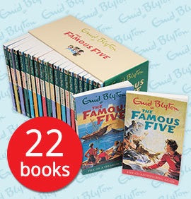 The Famous Five - 22 Books Collection By Enid Blyton