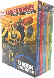Transformers Robots In Disguise Collection 5 Books Box Set