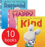 Feelings Collection - 10 Books