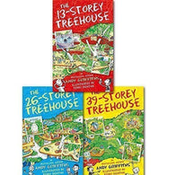 13-storey Treehouse 3 Books Collection