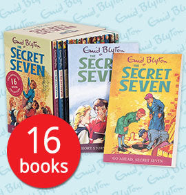 The Secret Seven Collection - 16 Books slipcase by Enid Blyton