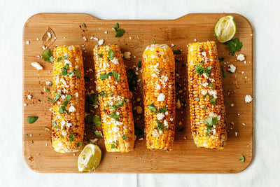Grilled Mexican Street Corn on the HERO Grill