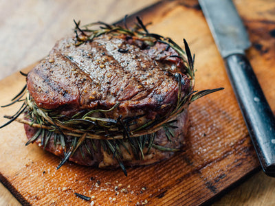 Cedar Planked Filet with Fresh Rosemary