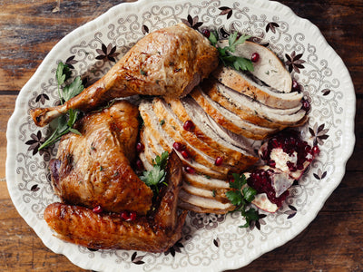 Brined & Roasted Turkey