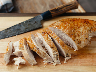 Roasted Turkey Breast with Turkey Perfect