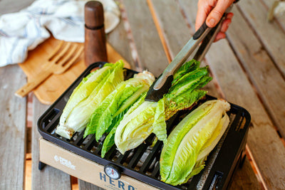 Grilled Caesar Salad on the HERO Grill