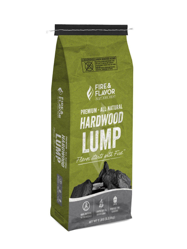 Hardwood Lump Charcoal (8 lb bag)
