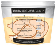 "Fire & Flavor Turkey Brining Bag, 21"" x 22"", Pack of 3"