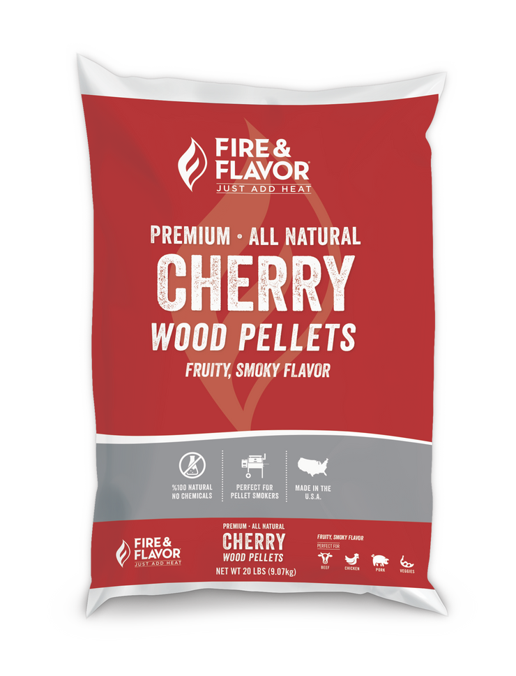 Fire & Flavor Cherry Wood Pellets 20lbs