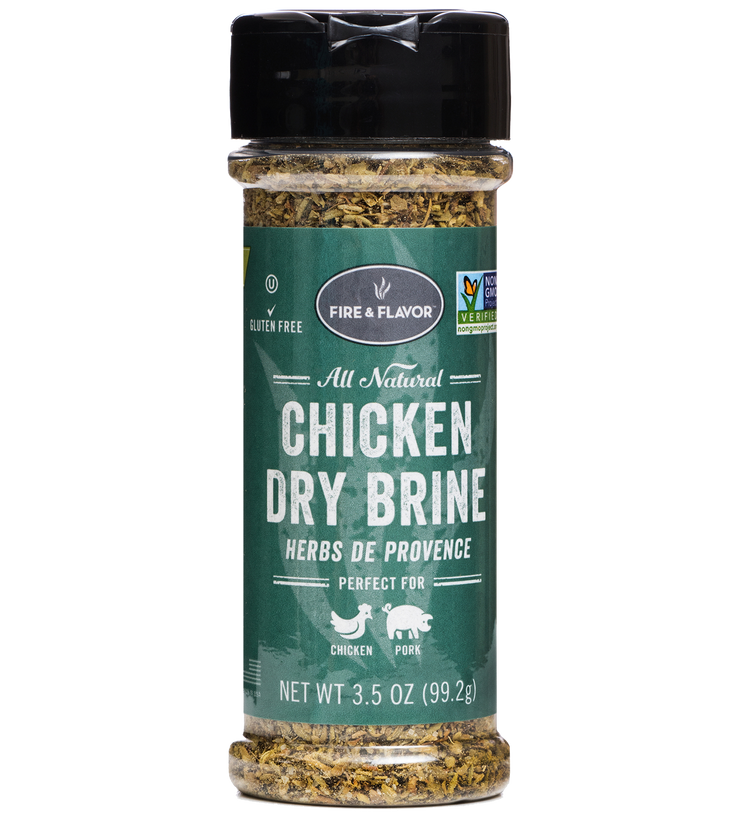 Fire & Flavor Chicken Dry Brine Herb de Provence (Pack of 2)