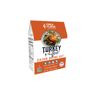 Fire & Flavor Turkey Perfect Cajun Brine Kit 16.6oz