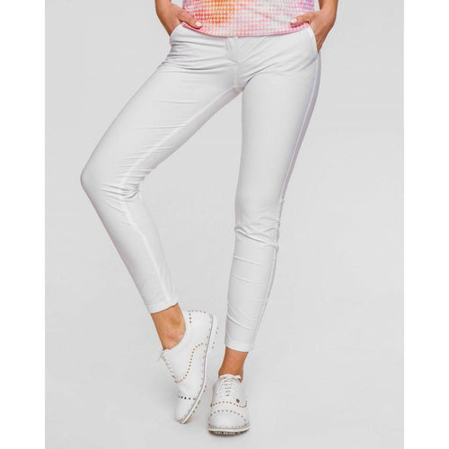 Chervò Sabaudia Golf Pant - White-Open Court
