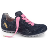 Henry & Magda Golf Shoe - Brilliante Navy Shoes - Open Court